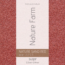 Nature Sand RED sugar 9kg 네이처 샌드 레드 슈가 9kg (0.2mm~0.4mm)
